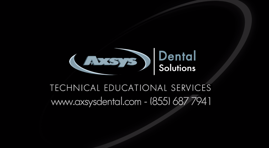 New Tutorials Section Added to Axsys Dental Solutions YouTube Site
